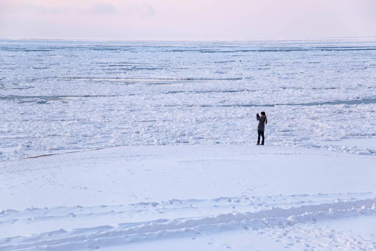 流氷展望広場