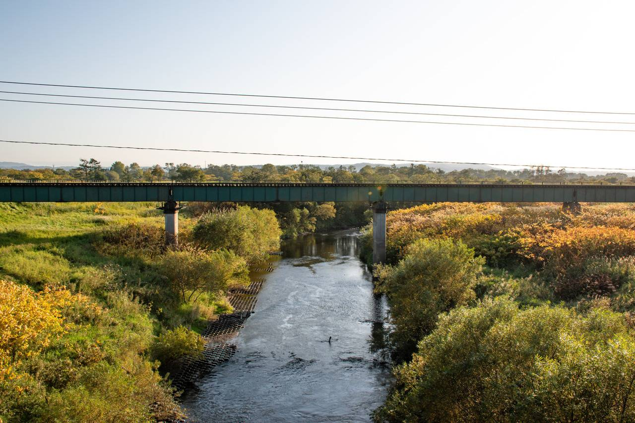 宗谷線・糠南駅近くの橋梁