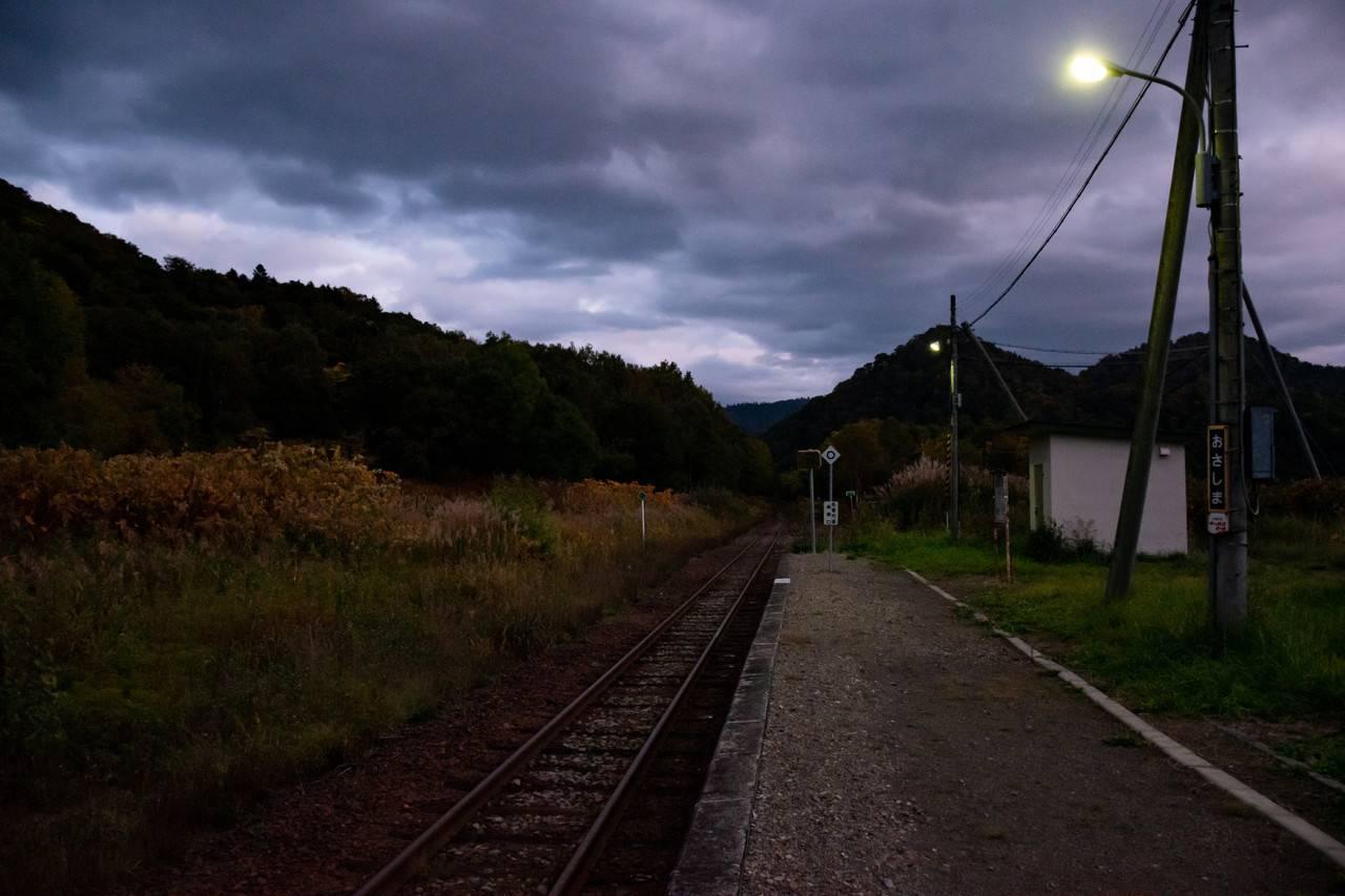 宗谷線・筬島駅