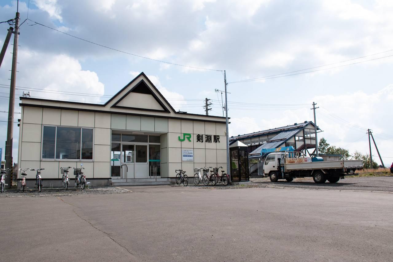 宗谷線・剣淵駅