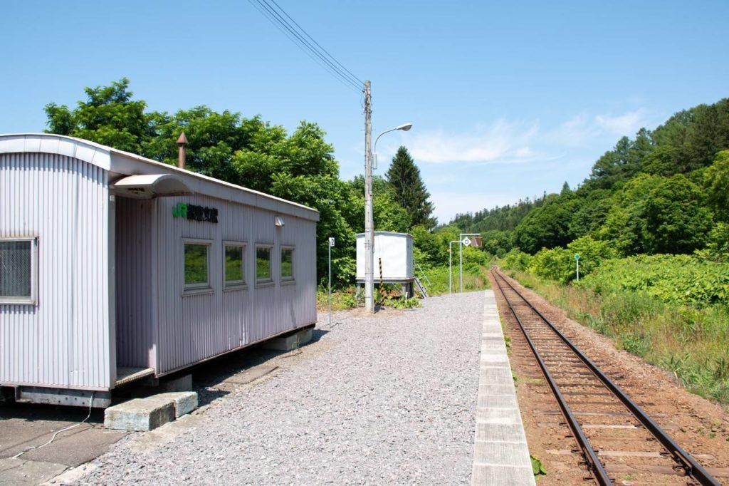宗谷線・智恵文駅