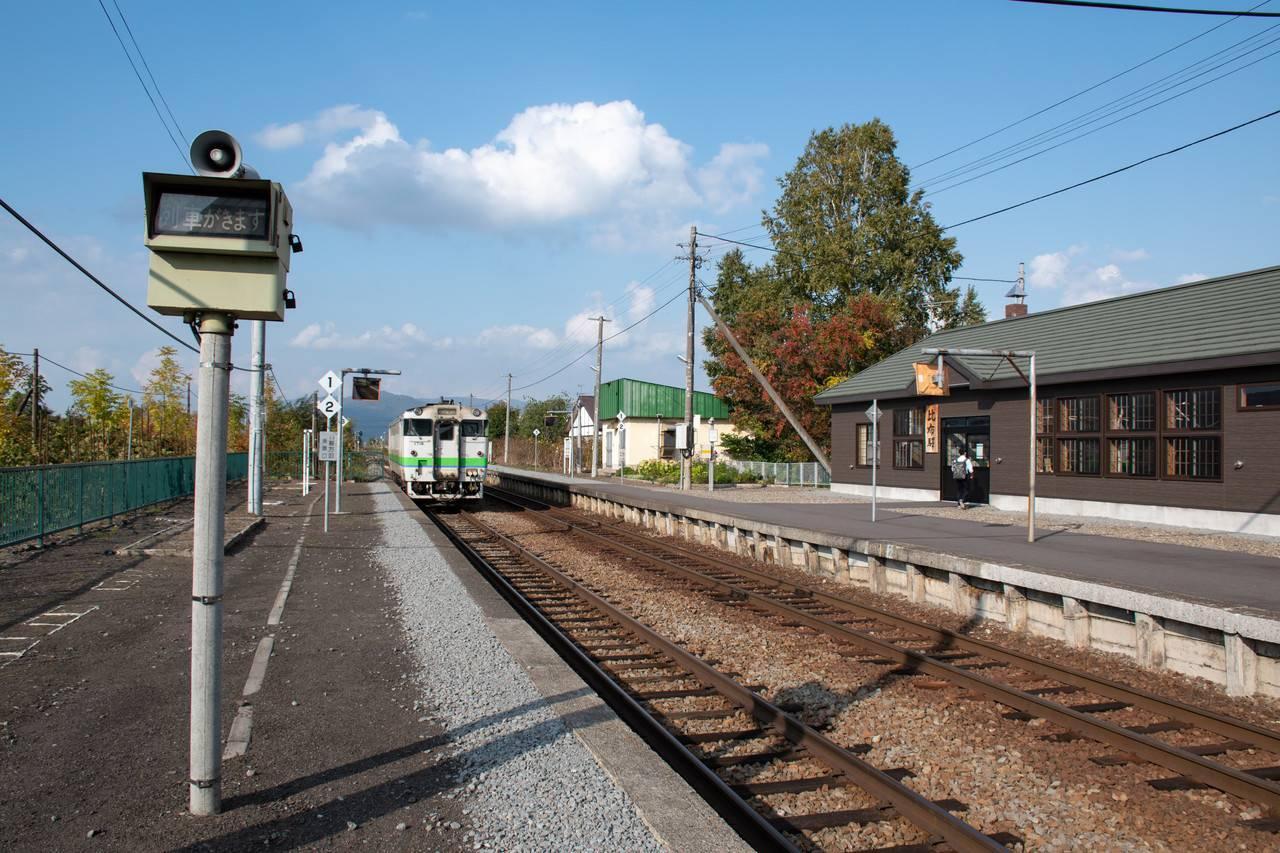宗谷線・比布駅