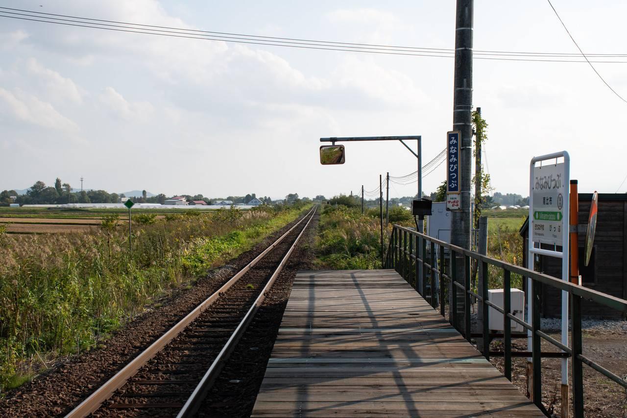 宗谷線・南比布駅