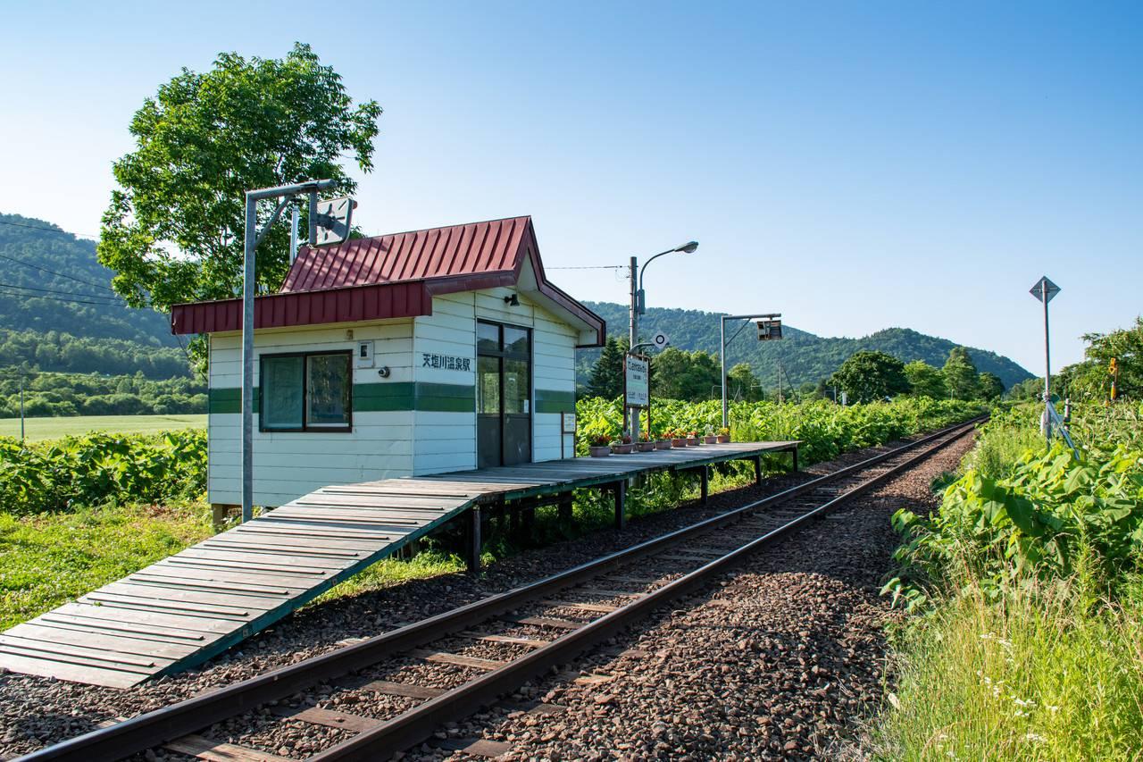 宗谷線・天塩中川駅
