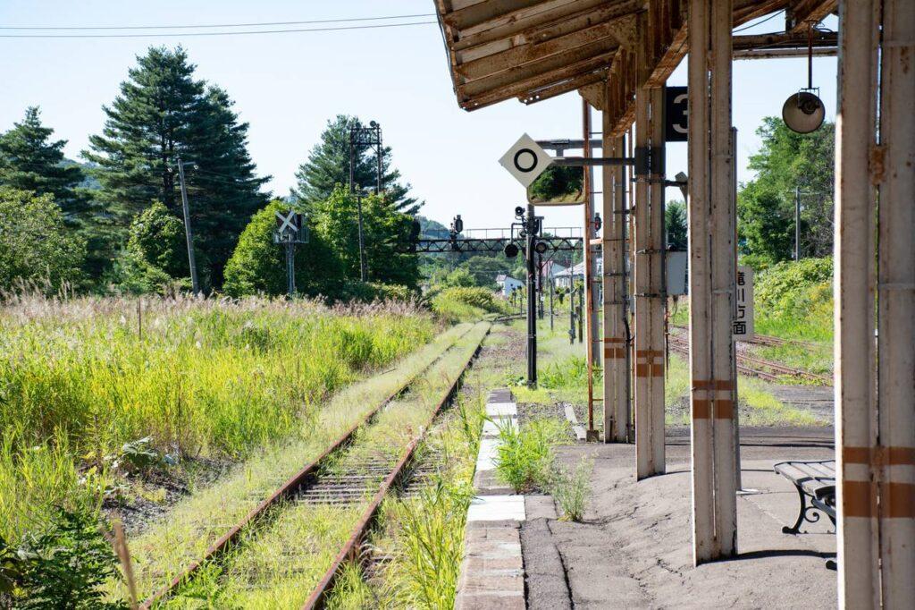 赤平駅3番線