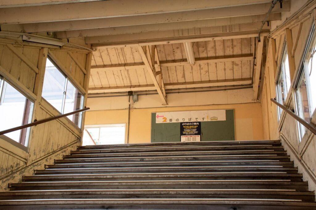 芦別駅跨線橋