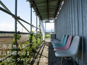 【北海道無人駅】富良野線その1 学田駅~ラベンダー畑駅
