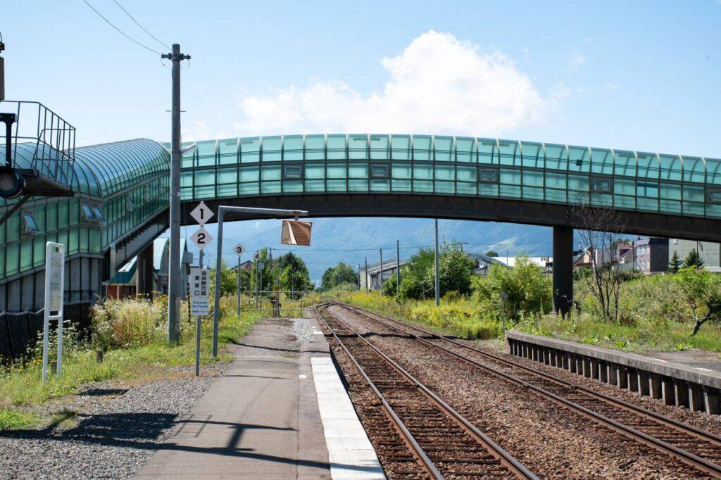中富良野駅ホーム